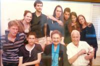 Dáša and Zeev Ron with grandchildren