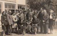 Birthday of son Roni, 1946