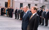 State visit of president Havel