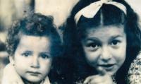 Se sestřenicí, zahynula v Treblince, 1942