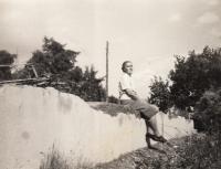 Milica, přítelkyně Zory, která je ukrývala první noc, 1964
