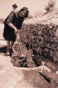 Sad Spravedlivých mezi národy, Jeruzalém 1975, Zora Pičulin