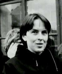 Hana portrait, Vrchlabí 1989