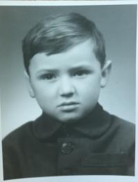 Milan Kašuba v dětství
