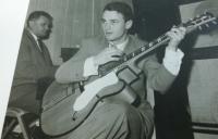 Milan Kašuba na počátku umělecké kariéry
