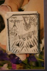 deníček, který si K. Hýbek psal v KT Sachsenhausenu