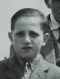 Vladimír Bernát v dětství