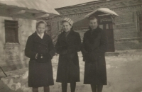 Antonie, Emily and Marie Bešt. Only Antonie survived the tragedy in Český Malín