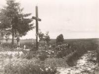 The grave murdered in Český Malín