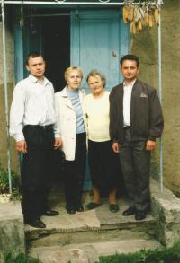 Lýdie Furious when visiting Volyně