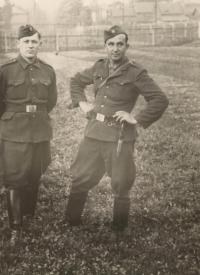 Uncle Václav Bešta in Czechoslovakia. Army Corps