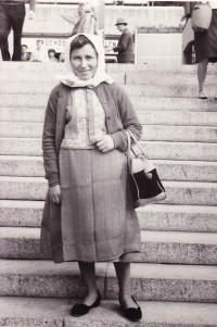 1978 - Jenovefa na veletrhu v Brně, zájezd z JZD
