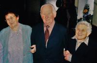 2004 - s bratrem Štefinem a sestrou Žofií na oslavě svých narozenin