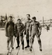 Mladý hokejista