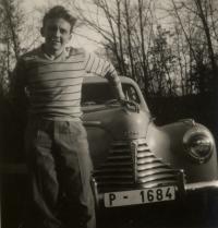 Young Augustin Bubník