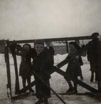 Mladý Augustin na ledě