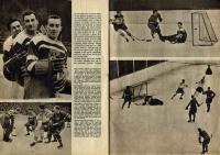 Newspaper message about World Championshiop 1949
