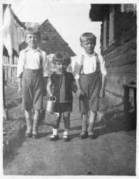 Radislav Bušek in the childhood