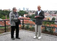 With a friend in the 2007