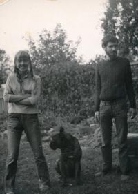 Anežka a Mirek 1970
