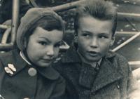 Zuzana and her brother Jiri