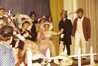1978 - school theatre, Zuzana on the bottom