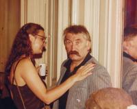 1982, Zuzana and Pavel Landovsky