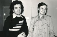 1976 Zuana and her boyfriend from Iran