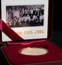Pamětní medaile k vítězství na ME v Bělehradě v roce 1976