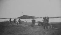Na plachtařském výcviku v Šumperku v roce 1942