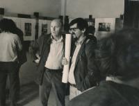 Pavel Dias s kolegou Miloňem Novotným