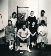 Pavel Dias s kolegy z maturitního ročníku