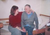 Daniela Švandová s bývalým manželem