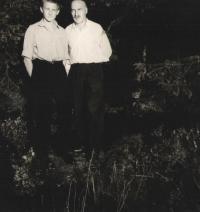 Jan s otcem