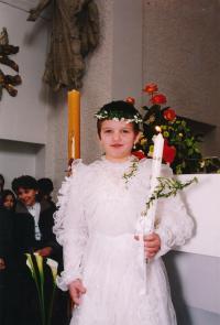 dcera Kristina