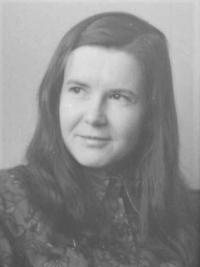 Jiřina Rybáčková v roce 1970
