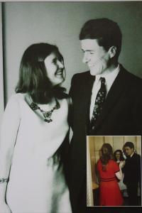Novomanželé Rybáčkovi 30. května 1970 v New Yorku