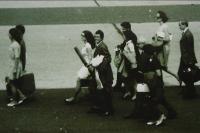 2. 7. 1969 - Odlet do Paříže, i s rybářským prutem