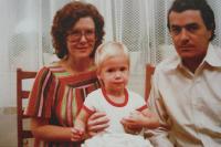 První narozeniny syna Jana Jamese - 27. 10. 1980