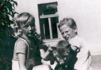 Tomáš and Bedřich Liška, Řevnice 1934