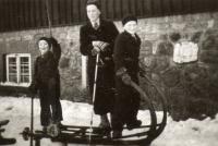 Valtr, Tomáš a Bedřich, Krkonoše 1936