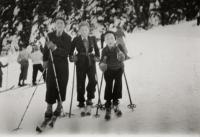from the left: Valtr, Tomáš, Bedřich