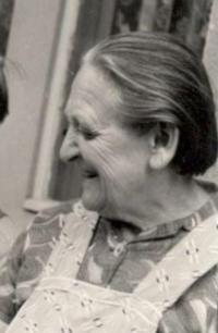 Maminka paní Pražákové, polovina 70. let.
