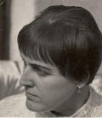 Helena Pražáková, Byšice 1969.