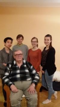 Studenti s Ivanem Kosenkem