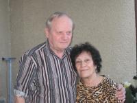 Alice Grusová s manželem, 2014