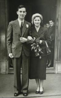 Svatební foto 1947