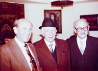 Bratři Lebovičovi (zleva Heinrich, Max, Henuš; 1982)