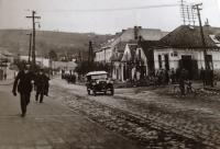 Ulice Dlouhá v roce 1924