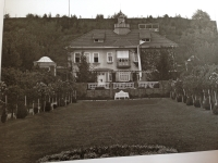 Vila Tomáše Bati v roce 1926
